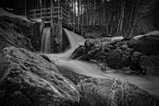 Free Black-and-white, Creek, Environment Royalty Free Stock Photography - 109910937