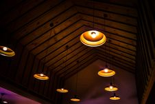 Free Ceiling Lights Stock Image - 109911081