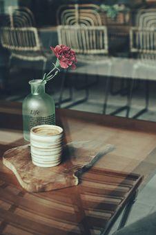 Free Close-up Photography Of Mug And Flower Vase Stock Image - 109911311