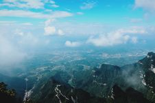 Free Aerial Photography Of Mountain Royalty Free Stock Photos - 109911338
