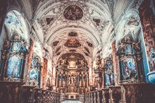 Free Cathedral Interior View Royalty Free Stock Photo - 109911395
