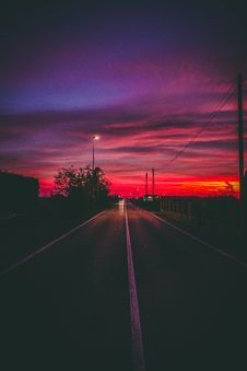 Free Photography Of Road At Nighttime Stock Photo - 109911520