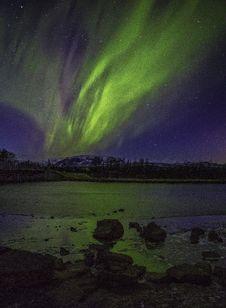 Free Aurora During Night Royalty Free Stock Photo - 109911685