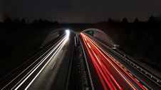 Free Timelapse Photograph Of Highway Royalty Free Stock Image - 109911756