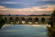 Free Panoramic Photo Of Bridge Royalty Free Stock Images - 109911879