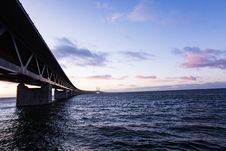 Free Bridge Over Body Of Water Photo Royalty Free Stock Images - 109911889