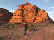 Free Person Wearing Orange Shirt And Green Pants Royalty Free Stock Photos - 109912188