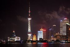 Free Oriental Pearl During Night Time Stock Photos - 109912573