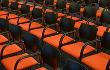 Free Photo Of Orange Chairs Royalty Free Stock Photography - 109912677