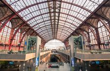 Free Photo Of The Central Station In Belgium Royalty Free Stock Photos - 109912678