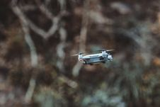 Free Quadcopter Drone Flying Royalty Free Stock Photography - 109913187