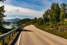 Free Brown Asphalt Road Beside Lake Stock Image - 109913371