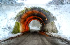 Free Colorful Concrete Tunnel Royalty Free Stock Photo - 109913695