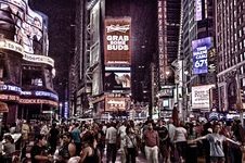 Free Photo Of People Walking In The Streets Of New York City Stock Photo - 109913820