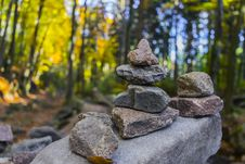 Free Gray Pile Of Stones Near Trees Stock Photos - 109913983