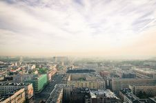 Free Bird S Eye View Of City Stock Image - 109914071