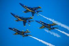 Free Four Jet Plane On Sky Stock Photos - 109914223