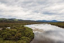 Free Scenic View Of Landscape During Cloudy Sky Royalty Free Stock Photography - 109914237