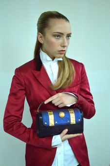Free Photography Of A Woman Wearing Red Formal Coat Royalty Free Stock Images - 109914269