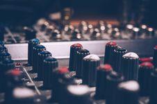 Free Macro Shot Audio Equalizer Royalty Free Stock Image - 109914416