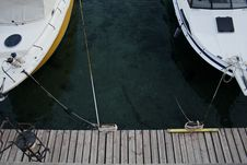 Free Aerial Photography Of White Yachts Stock Photo - 109914420