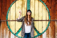 Free Photo Of A Hippie Woman Royalty Free Stock Images - 109914799