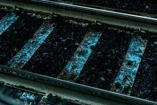 Free Gray Metal Railway Stock Photography - 109914952