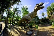 Free Dinosaur Statue Stock Photo - 109915190