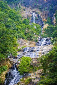 Free Water Falls Stock Image - 109915261