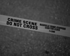 Free Grayscale Photo Of Crime Scene Do Not Cross Tape Stock Image - 109915361