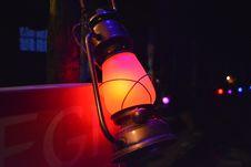 Free Gray Steel Kerosene Lamp Stock Photography - 109915822