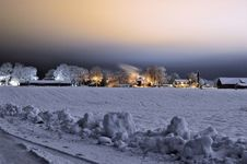 Free Places Covered With Snow Royalty Free Stock Image - 109915826