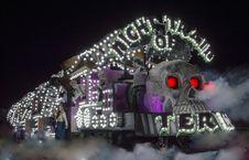 Free Night Of The Train Photo Royalty Free Stock Photo - 109915935