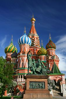 Free Saint Basil S Cathedral Royalty Free Stock Image - 109916046