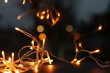 Free Shallow Focus Photography Of String Lights Royalty Free Stock Image - 109916336