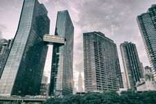 Free High Rise Buildings Under Cloudy Sky Stock Photos - 109916463
