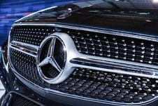 Free Photo Of Mercedes-benz Grille Stock Image - 109916571