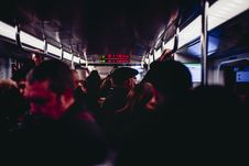 Free Group Of People In Train Stock Image - 109916601