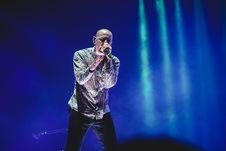Free Chester Linkin Park Bennington Singing On Stage Stock Photos - 109916693