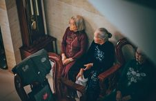 Free Photography Of Three Old Women Sitting On Chair Royalty Free Stock Photo - 109916995