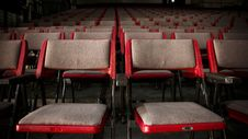 Free Empty Theater Seats Stock Images - 109917024