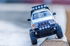 Free Silver Ford Toy Car On The Ground Royalty Free Stock Photography - 109917167