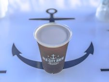Free Brown Old City Brew Can Royalty Free Stock Images - 109917619