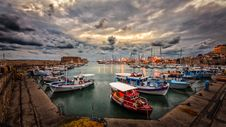 Free Assorted Fishing Boats Royalty Free Stock Photos - 109917798