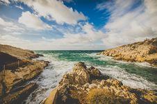 Free Scenic View Of Ocean Stock Image - 109917811