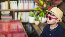 Free Photography Of A Boy Wearing Sunglasses Royalty Free Stock Photo - 109918435