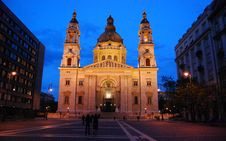 Free Photo Of White Cathedral During Night Time Stock Photos - 109919113