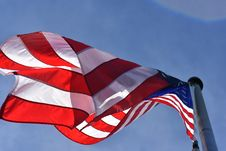 Free Low Angle Photography Of American Flag Stock Image - 109919311
