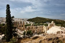 Free Odeon Of Herodes Atticus Stock Image - 109919391