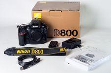 Free Nikon D800 Set Stock Images - 109919524